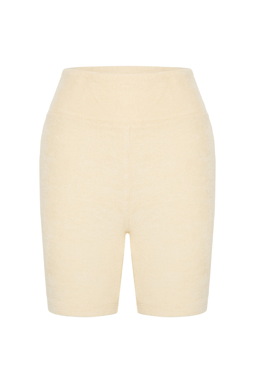 Heat Towelling Short - Oat