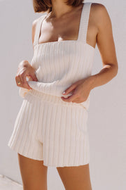 Summer Knit Camisole - Oat