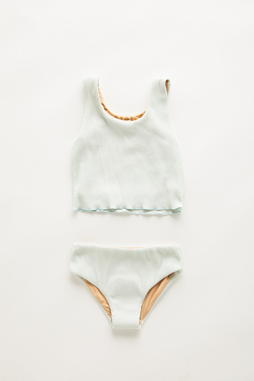Mini Mermaid Edge Bikini - Seamist
