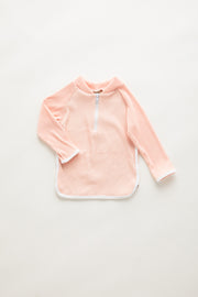 Mini Dolphin Hem Rashie - Blush