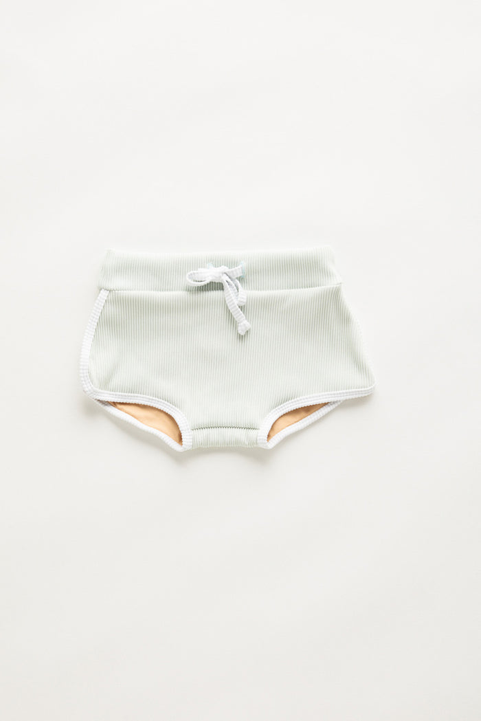 Mini Dolphin Hem Short - Seamist