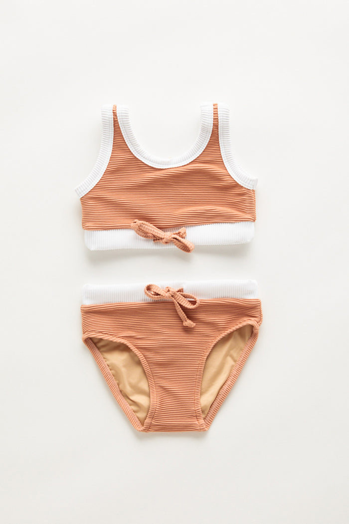 Mini Band Bikini - Terracotta