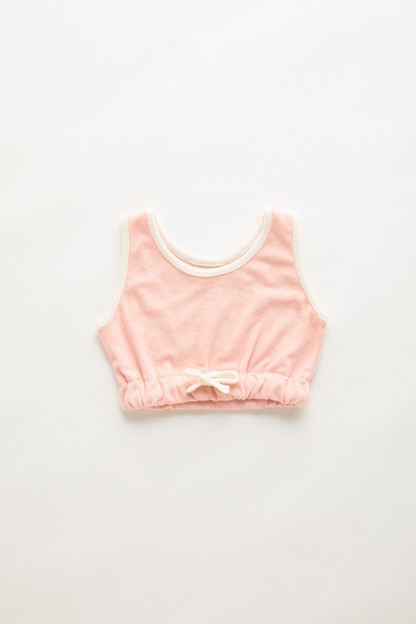 Mini Towel Tank - Blush