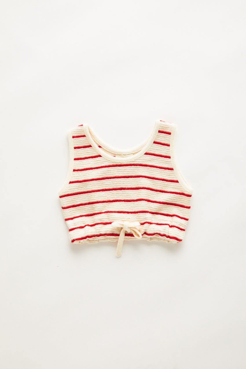 Mini Towel Tank - Sunset Stripe