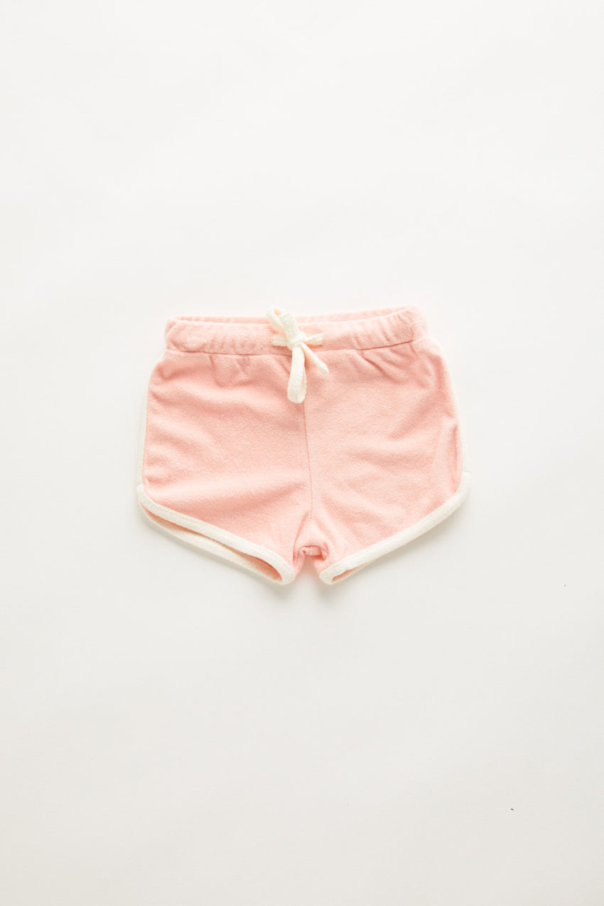 Mini Towel Short - Blush