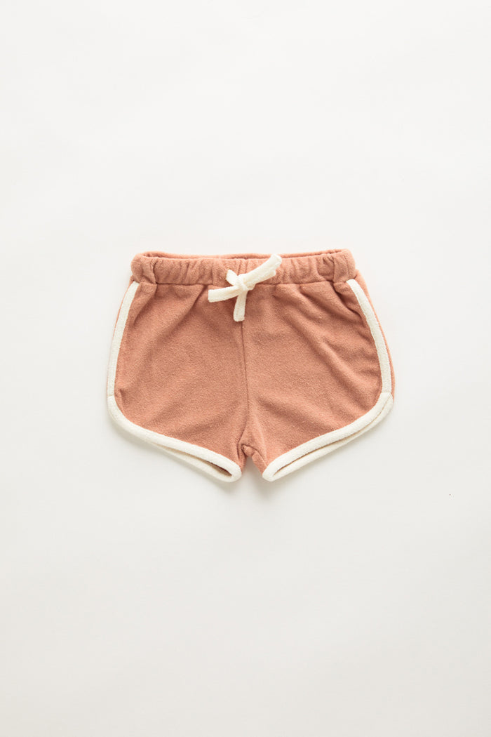 Mini Towel Short - Terracotta