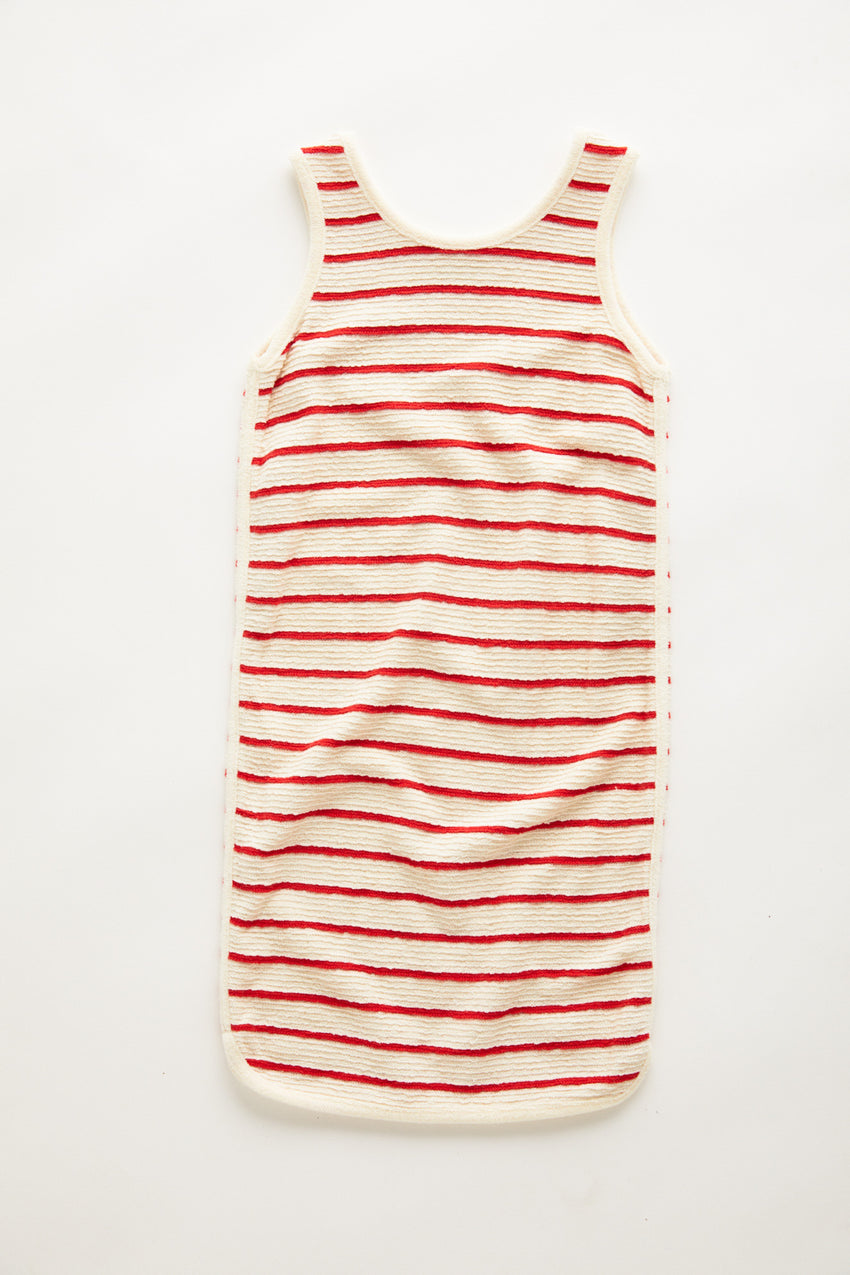 Mini Towel Dress - Sunset Stripe