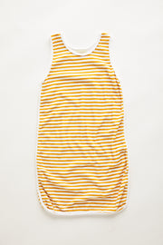 Mini Towel Dress - Golden Stripe
