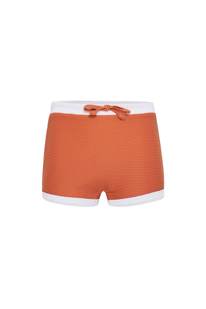 Mini Band Short - Plum