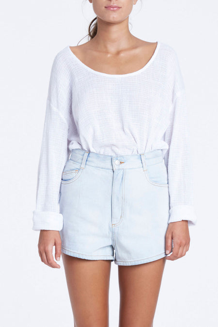 Zed Mom Denim Short