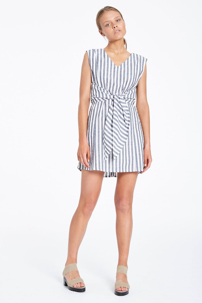 Trail Wrap Dress