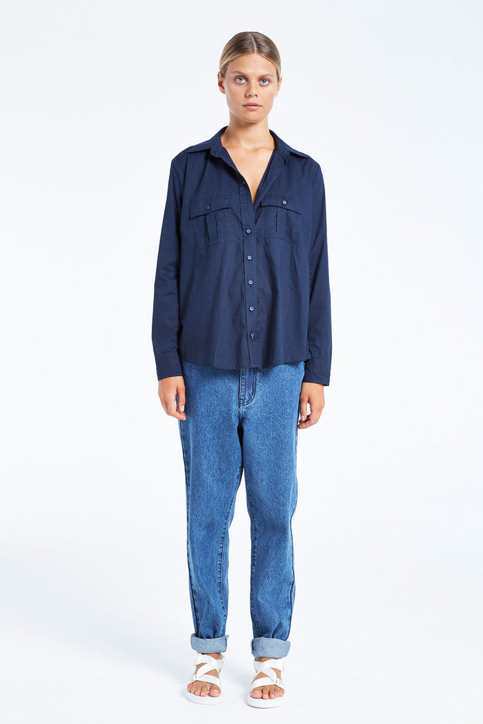 Val Shirt - Navy