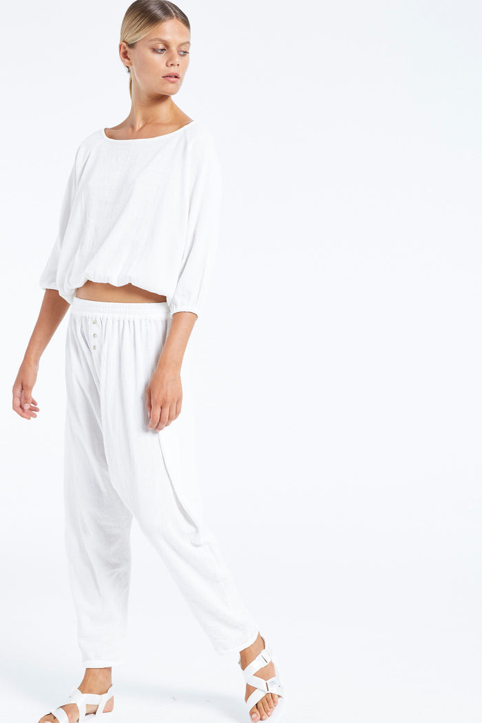 Fern Top - White