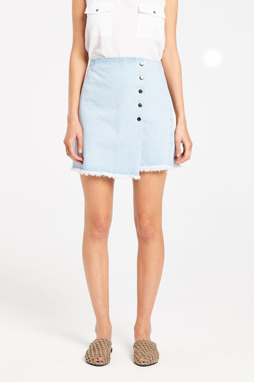 Shore Denim Skirt