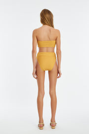Signature High Waisted Brief - Marigold