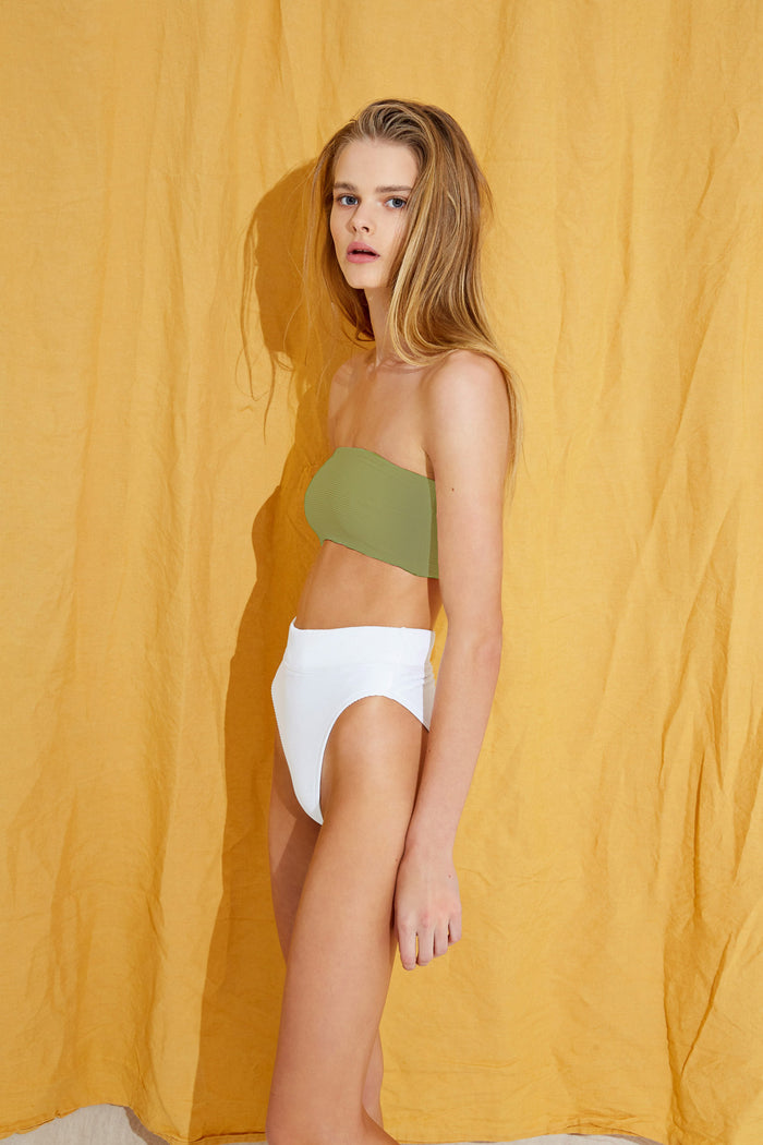 Signature Bandeau Top - Olive