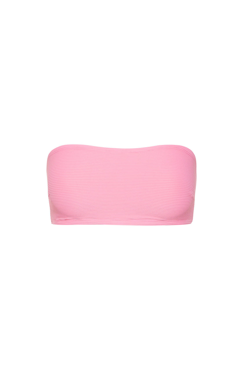 Signature Bandeau Top - Hot Pink