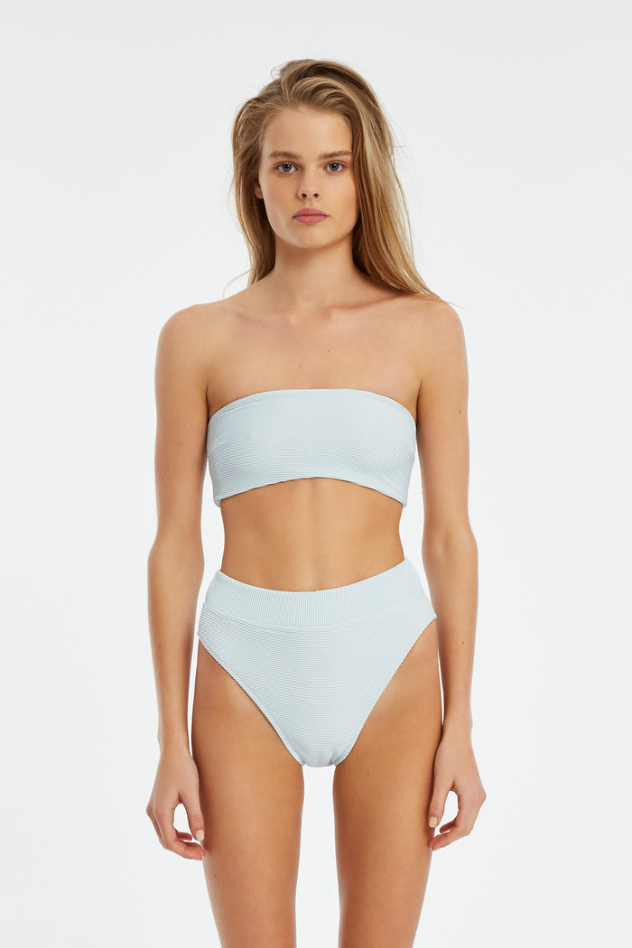 Signature Bandeau Top - Powder Blue