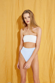 Signature High Waisted Brief - Powder Blue