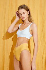 Signature V Waisted Brief - Marigold