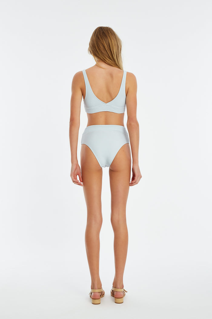Signature V Waisted Brief - Powder Blue
