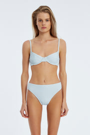 Signature Balconette Bracup Top - Powder Blue