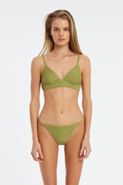 Signature Tricup Top - Olive