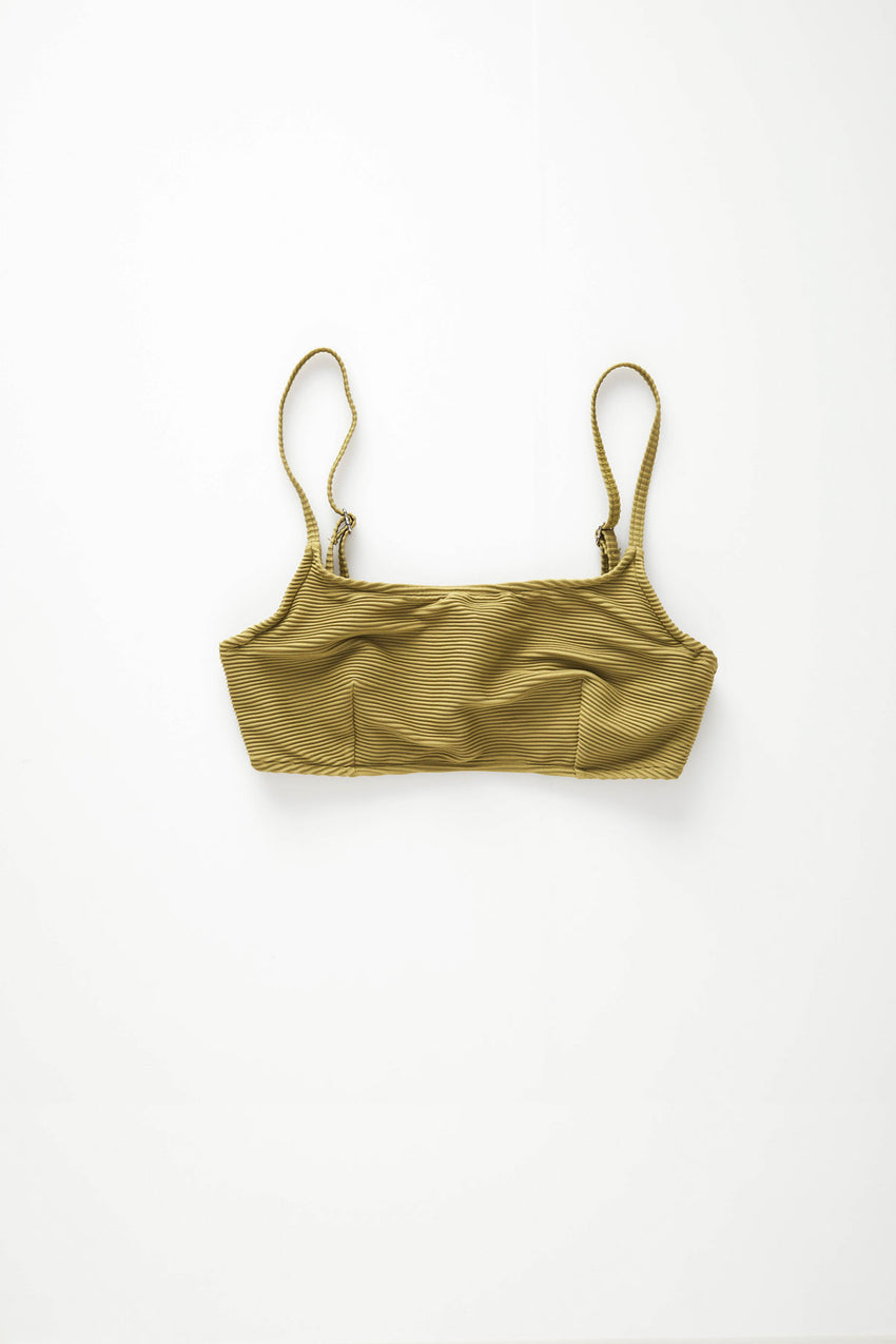 Signature Bralette Top - Olive