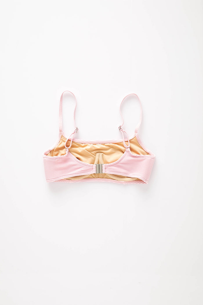 Signature Bralette Top - Pink