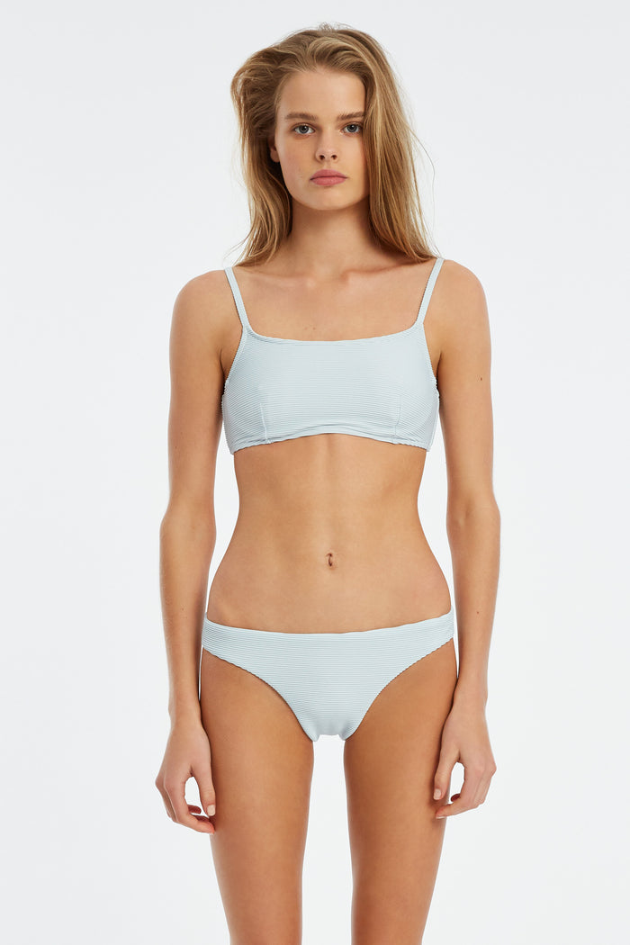 Signature Bralette Top - Powder Blue