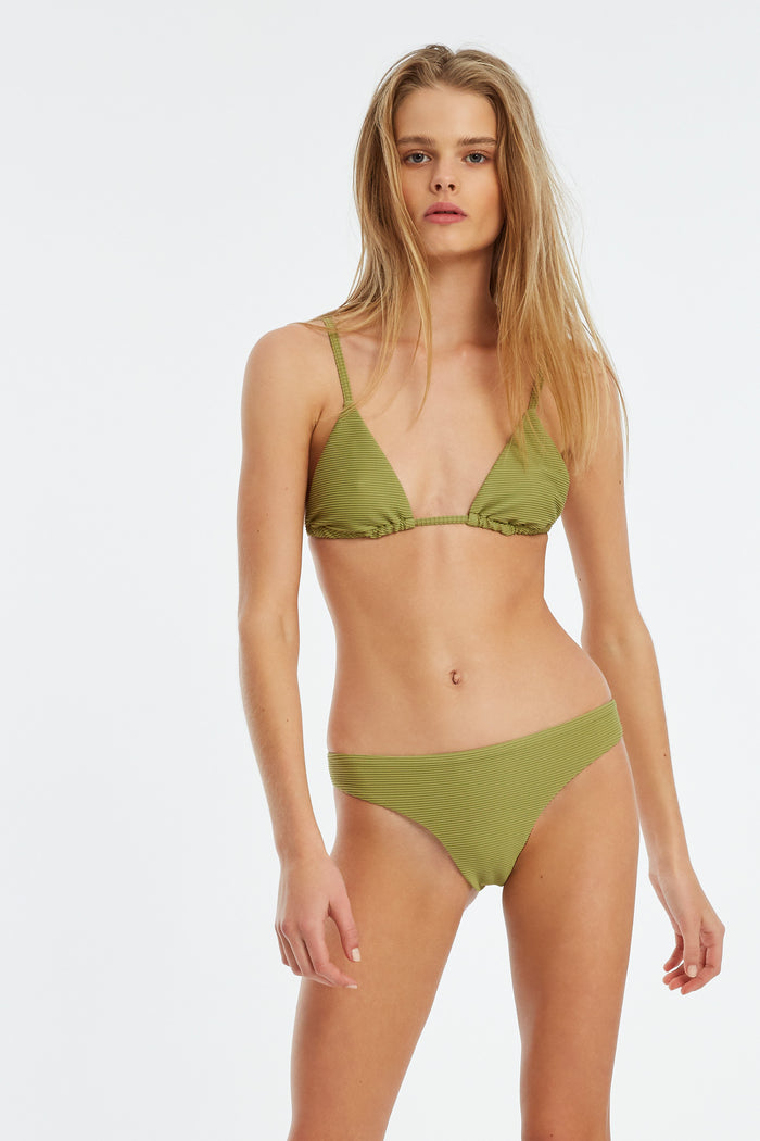 Signature Triangle Top - Olive
