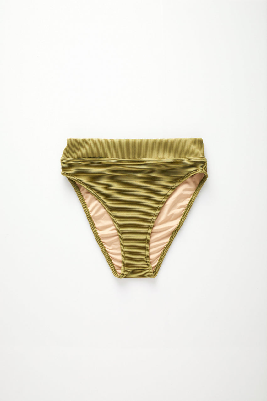 Signature High Waisted Brief - Olive