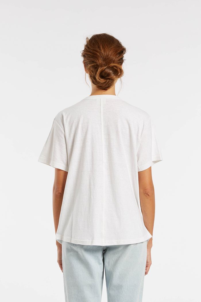 Signature Boyfriend T Shirt - White