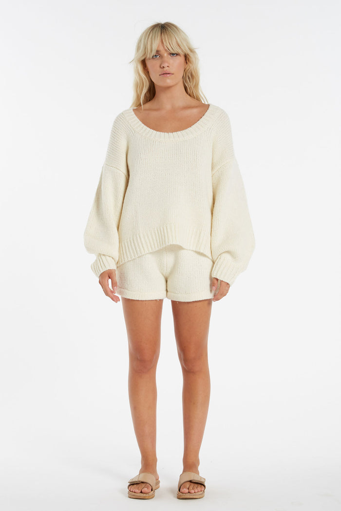 Whitewash Jumper