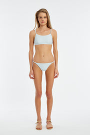 Signature Simple Bralette Top - Powder Blue
