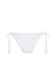 Signature Tie Brief - White