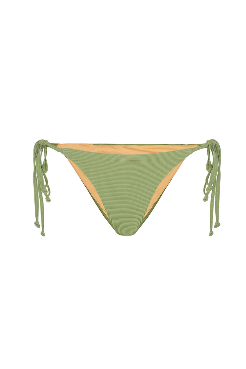 Signature Tie Brief - Tallow Green