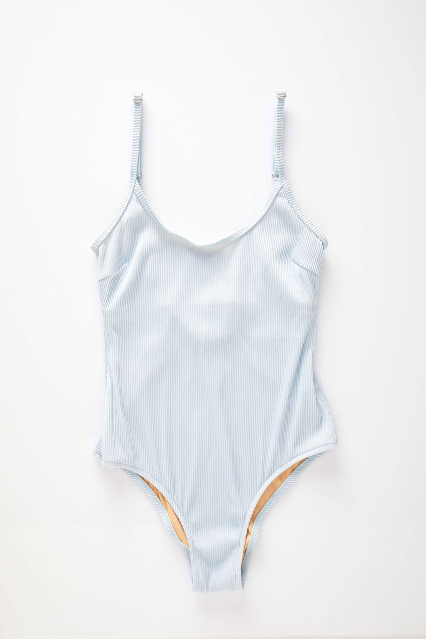 Signature Simple Onepiece - Powder Blue
