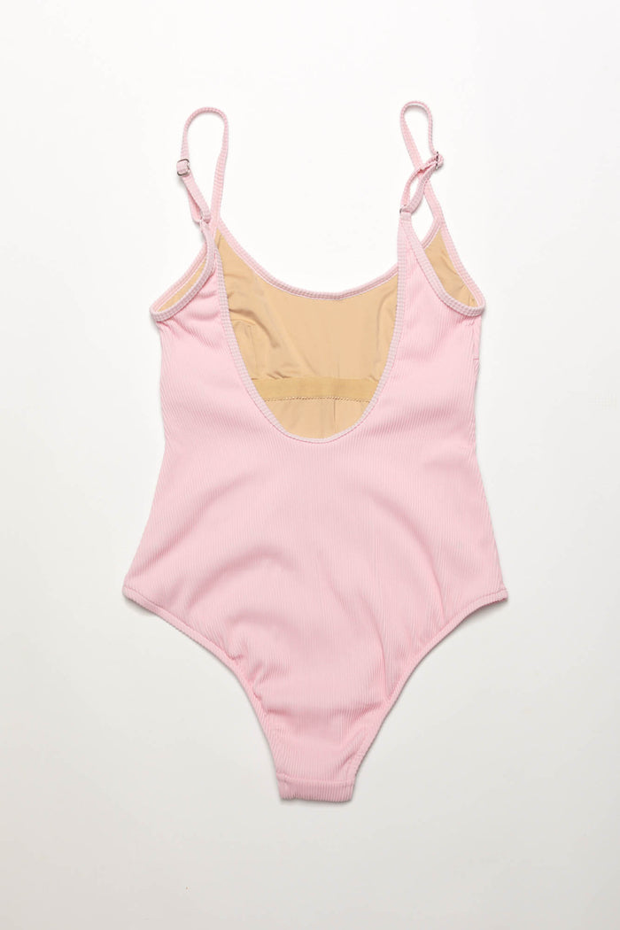 Signature Simple Onepiece - Pink