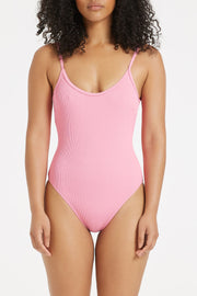 Signature Simple Onepiece - Hot Pink