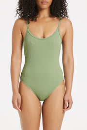 Signature Simple Onepiece - Tallow Green