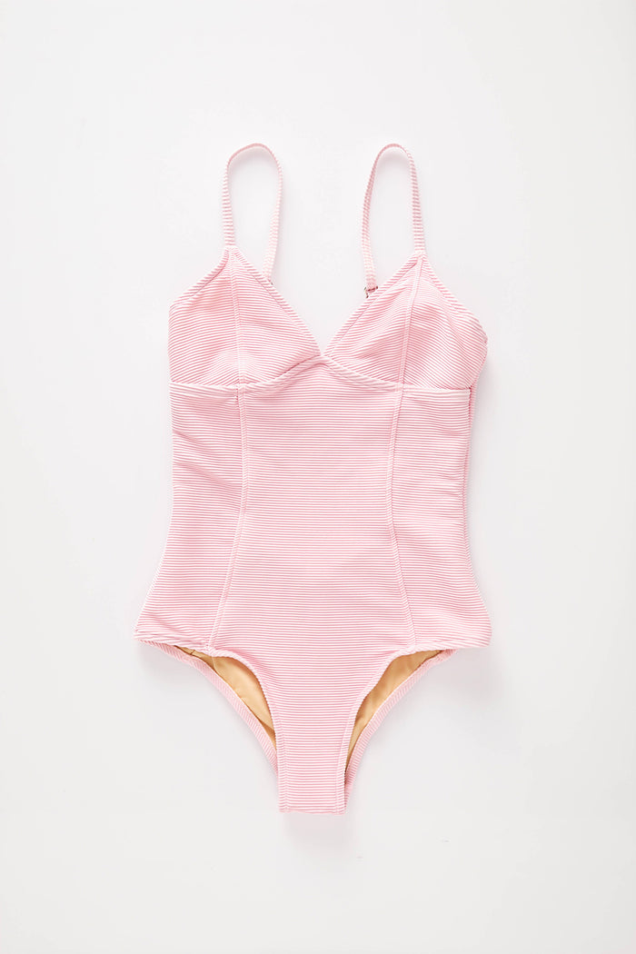 Signature Tri Onepiece - Pink