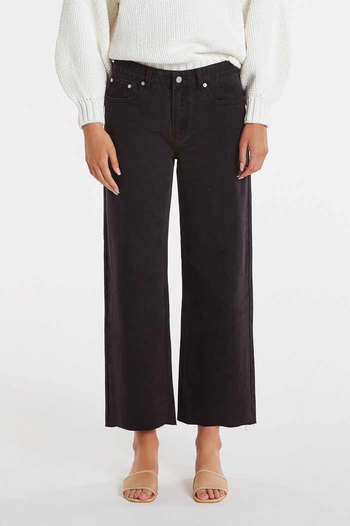 Shadow Wide Leg Jean