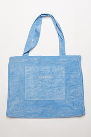 Towelling Bag - Blue