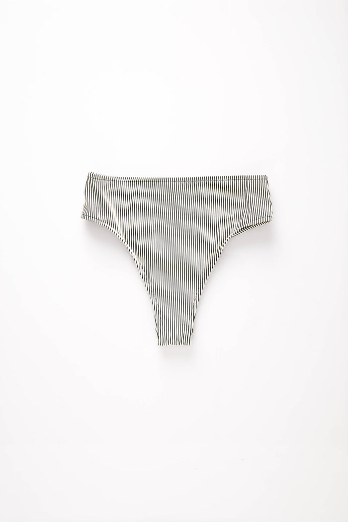 Signature Skimpy High Waisted Brief - Stripe