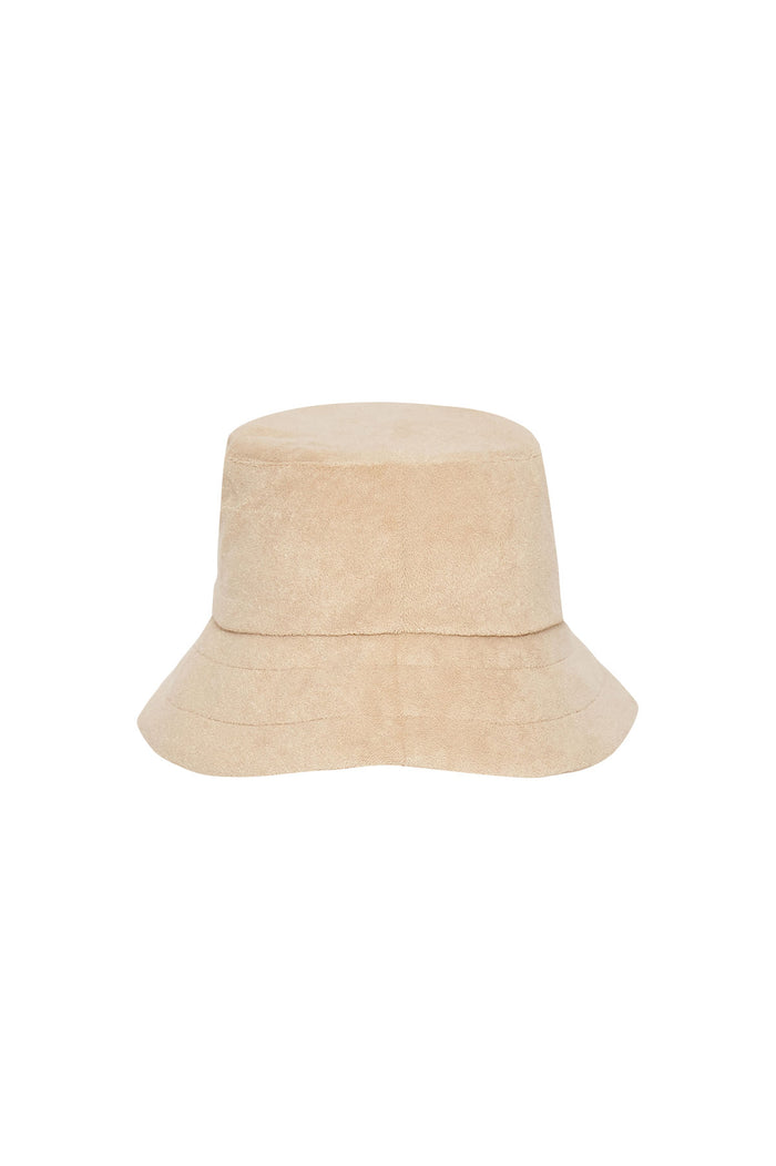 Towelling Hat - Natural