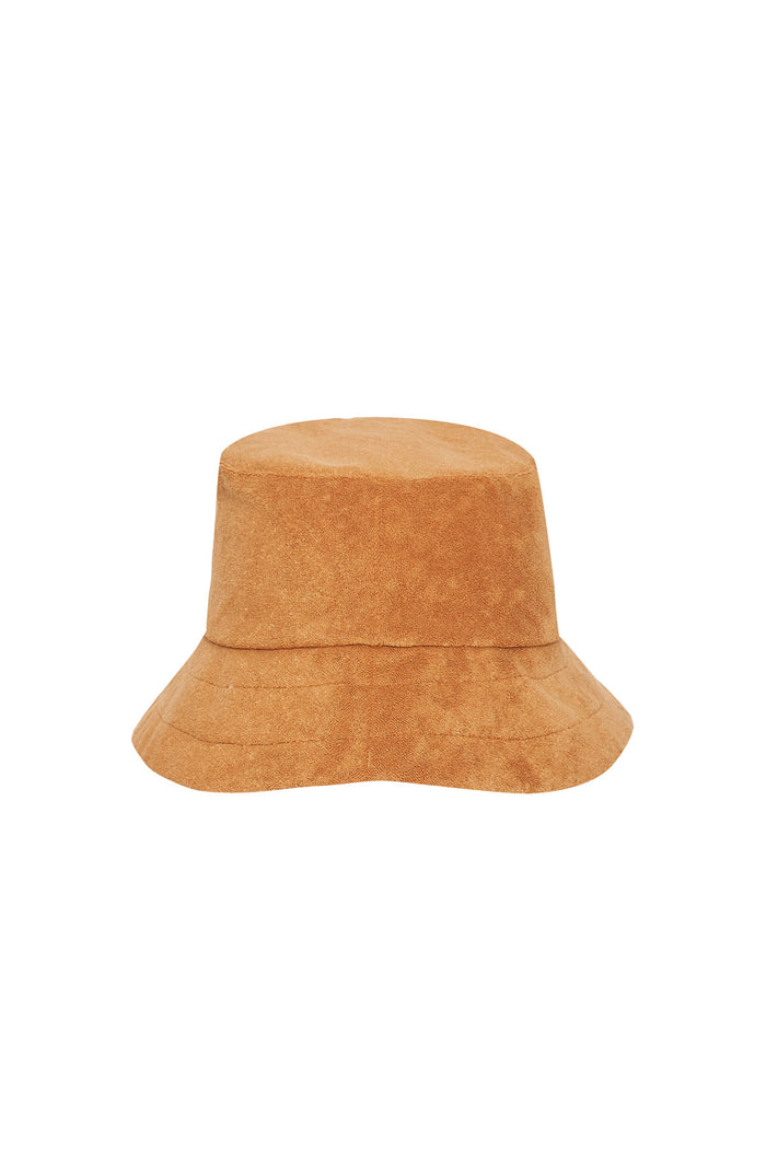 Towelling Hat - Terracotta