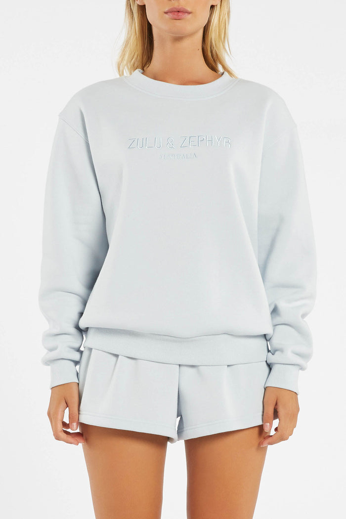 Classic Jumper - Powder Blue