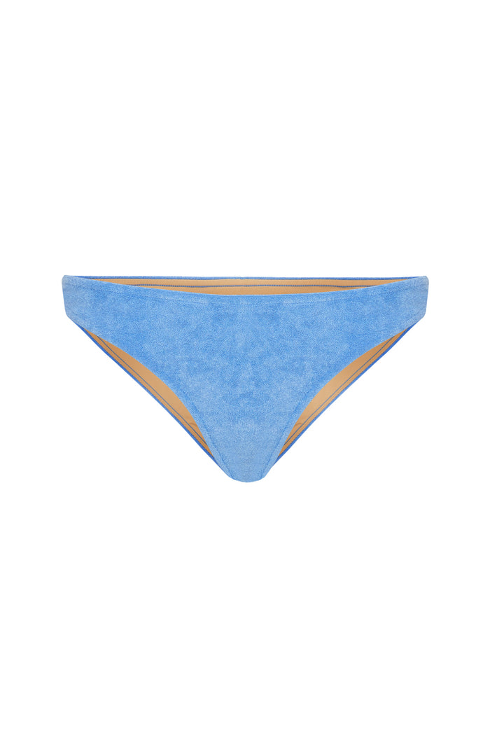 Towelling Standard Brief - Blue