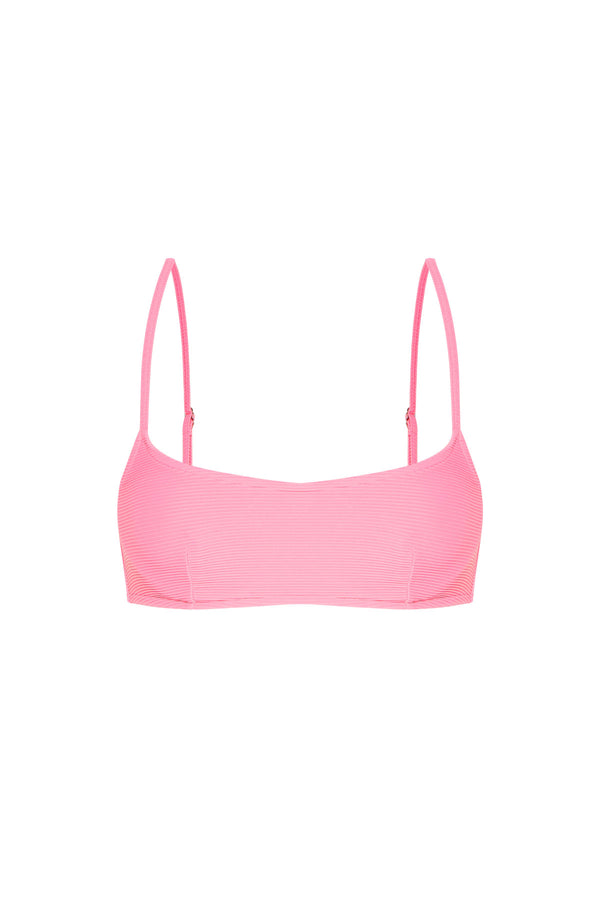 Signature Bralette Top - Hot Pink